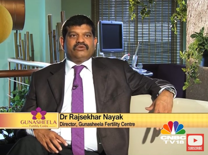 Dr. Rajasekhar Nayak with CNBC